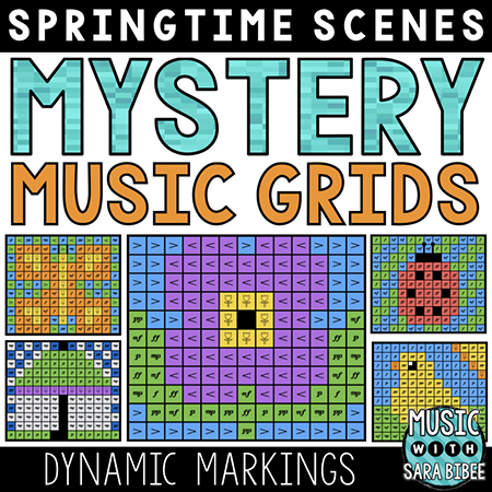 Spring Mystery Music Grids - Dynamics