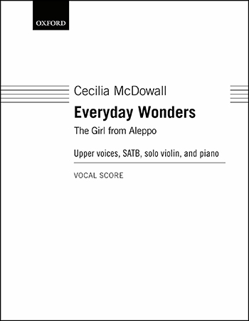 Everyday Wonders community sheet music cover