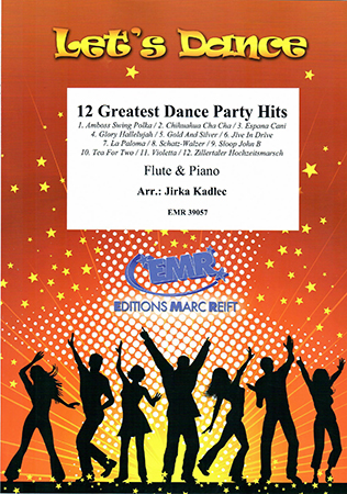 12 Greatest Dance Party Hits Cover