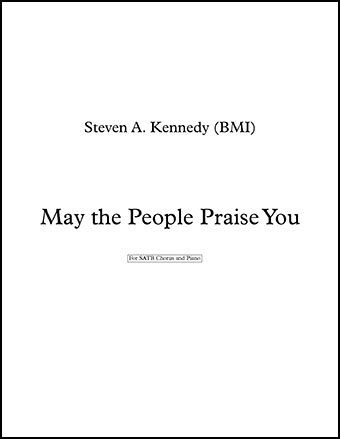 May the People Praise You