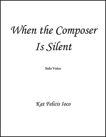 When the Composer Is Silent Thumbnail