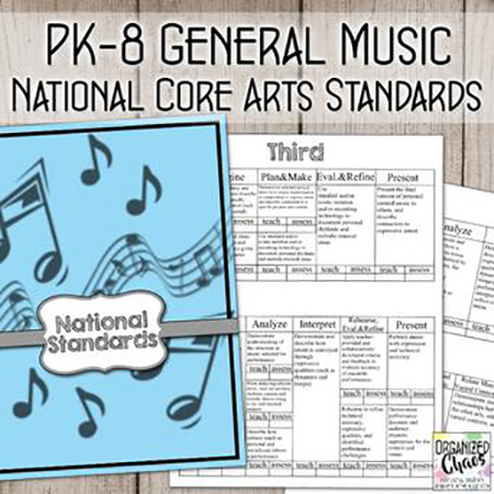 National Core Arts Standards for PK-8 General Music: Planning and Assessment Thumbnail