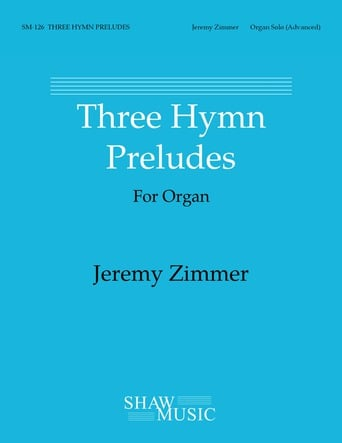 Three Hymn Preludes for Organ Thumbnail
