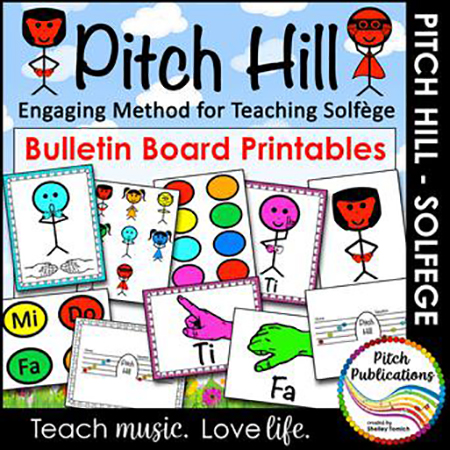 Pitch Hill Solfege Method Bulletin Boards