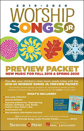 Worship Songs Jr. Preview Packet 2019-2020