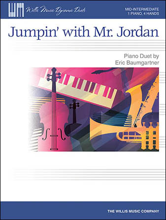 Jumpin' with Mr Jordan 1 Piano/4 Hands