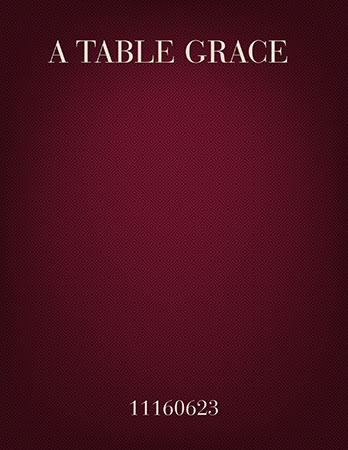 A Table Grace