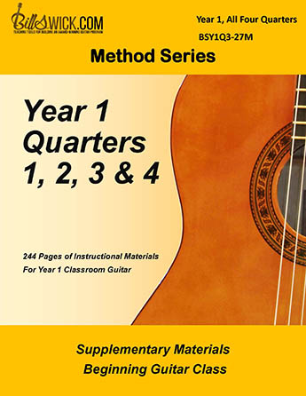 Bill Swick's Beginning Guitar Class Method - Complete