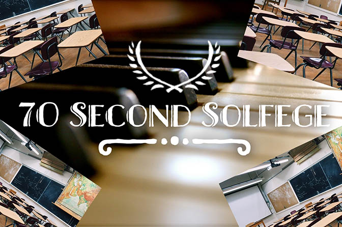 70 Second Solfege Classroom Set