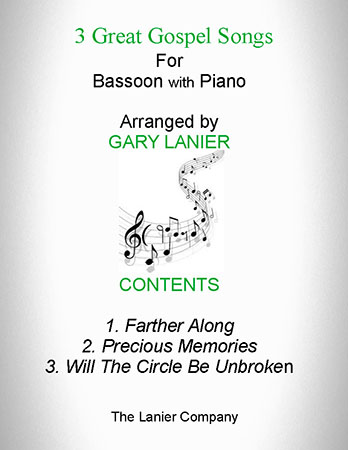 3 Great Gospel Songs (for Bassoon with Piano)