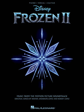 Frozen 2 vocal sheet music cover