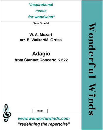 Adagio from Clarinet Concerto K.622