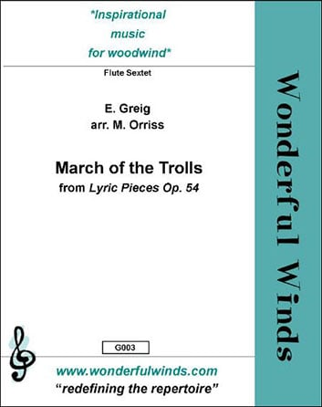March of the Trolls from Lyric Pieces