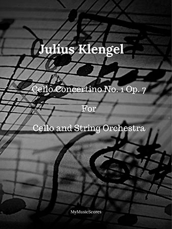 Cello Concertino No. 1 in C Major, Op. 7 for Cello and String Orchestra