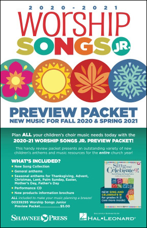 Worship Songs Jr. Preview Packet 2020-2021