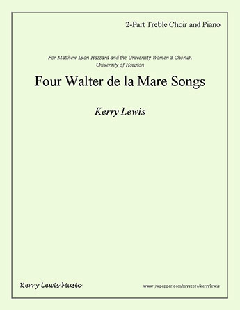 Four Walter de la Mare Songs