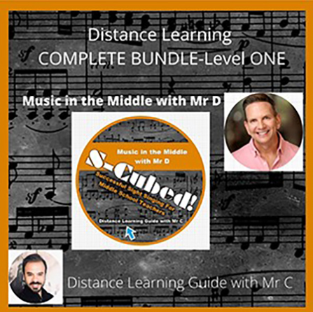 S-Cubed Sight Singing Program - Distance Learning Version, Level 1 Complete Bundle