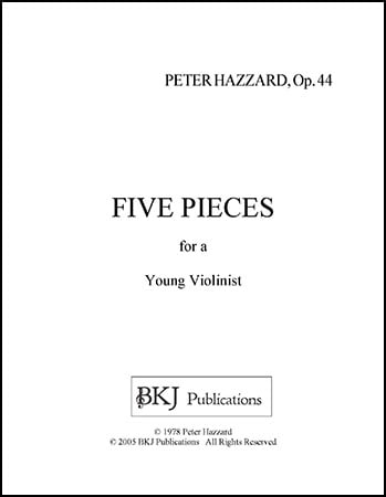 Five Pieces for a Young Violinist