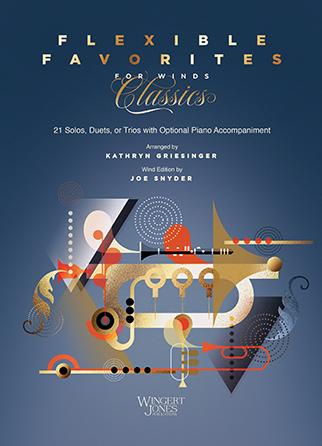 Flexible Favorites for Winds: Classics brass sheet music cover