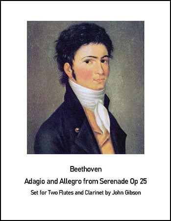 Beethoven Adagio and Allegro from Serenade op.25