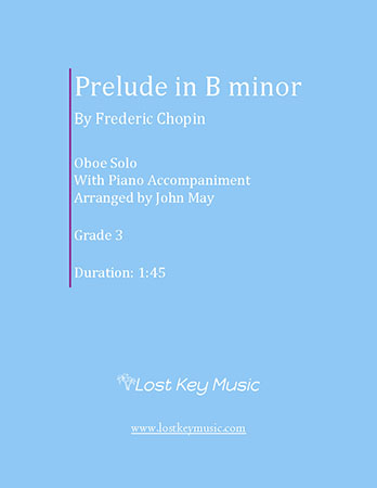 Prelude in B minor-Oboe Solo