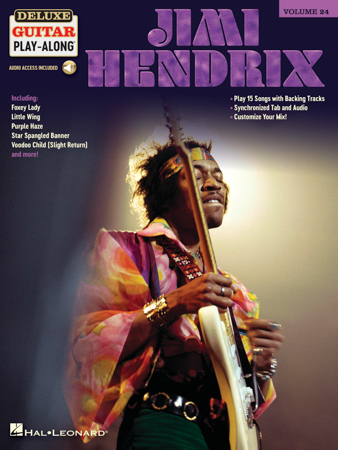Deluxe Guitar Play-Along, Vol. 24: Jimi Hendrix