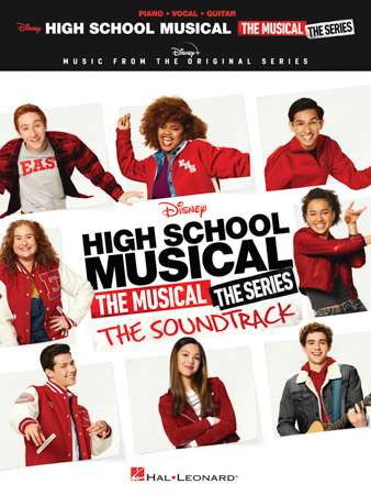 High School Musical: The Musical: The Series: The Soundtrack vocal sheet music cover