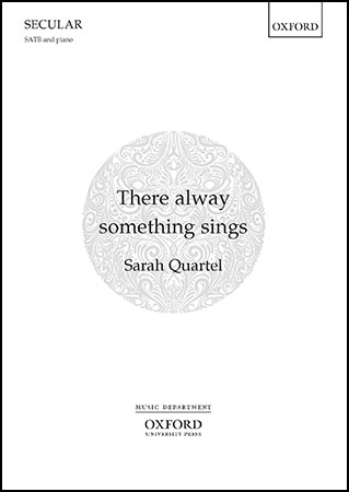 There Alway Something Sings community sheet music cover