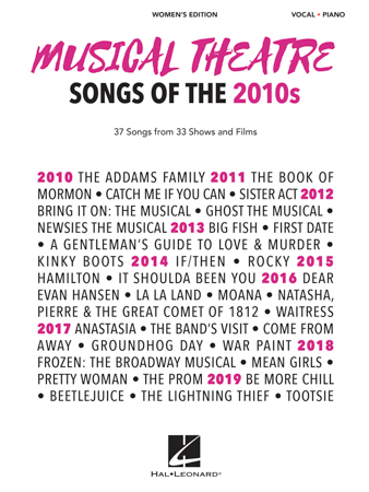 Musical Theatre Songs of the 2010s