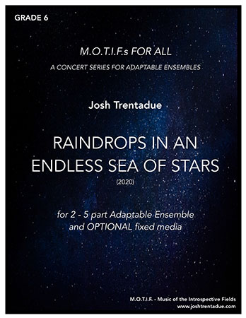 Raindrops in an endless sea of stars