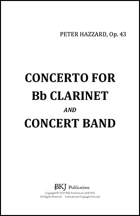 Concerto for Clarinet and Band, Op.43