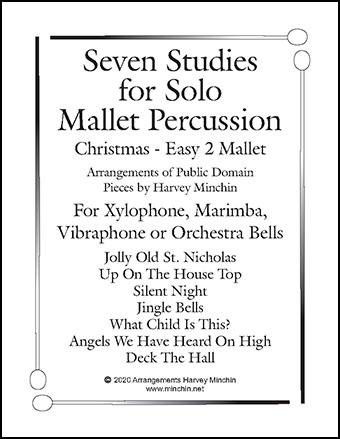 Seven Studies For Solo Mallet Percussion Christmas