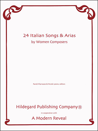 24 Italian Songs & Arias by Women Composers