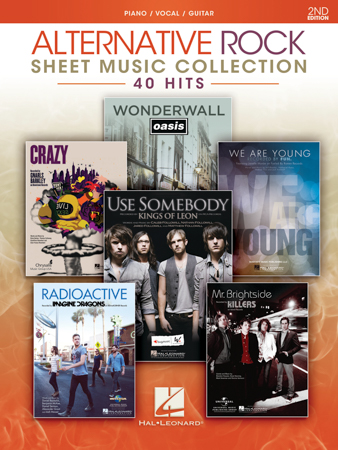 Alternative Rock Sheet Music Collection - 40 Hits
