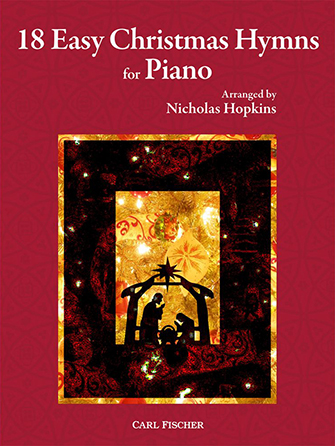 18 Easy Christmas Hymns for Piano