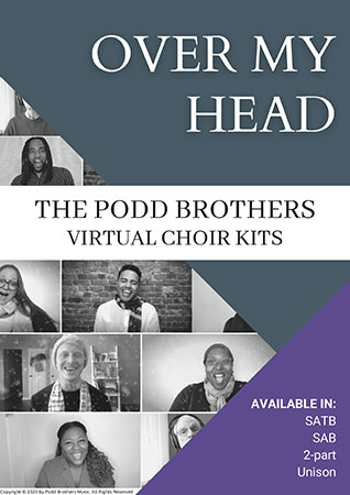 Over My Head choral sheet music