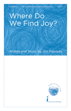 Where Do We Find Joy?