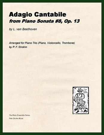 Adagio Cantabile from Piano Sonata No. 8, Op. 13