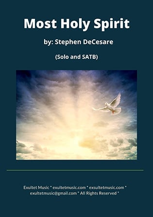 Most Holy Spirit: Solo and SATB