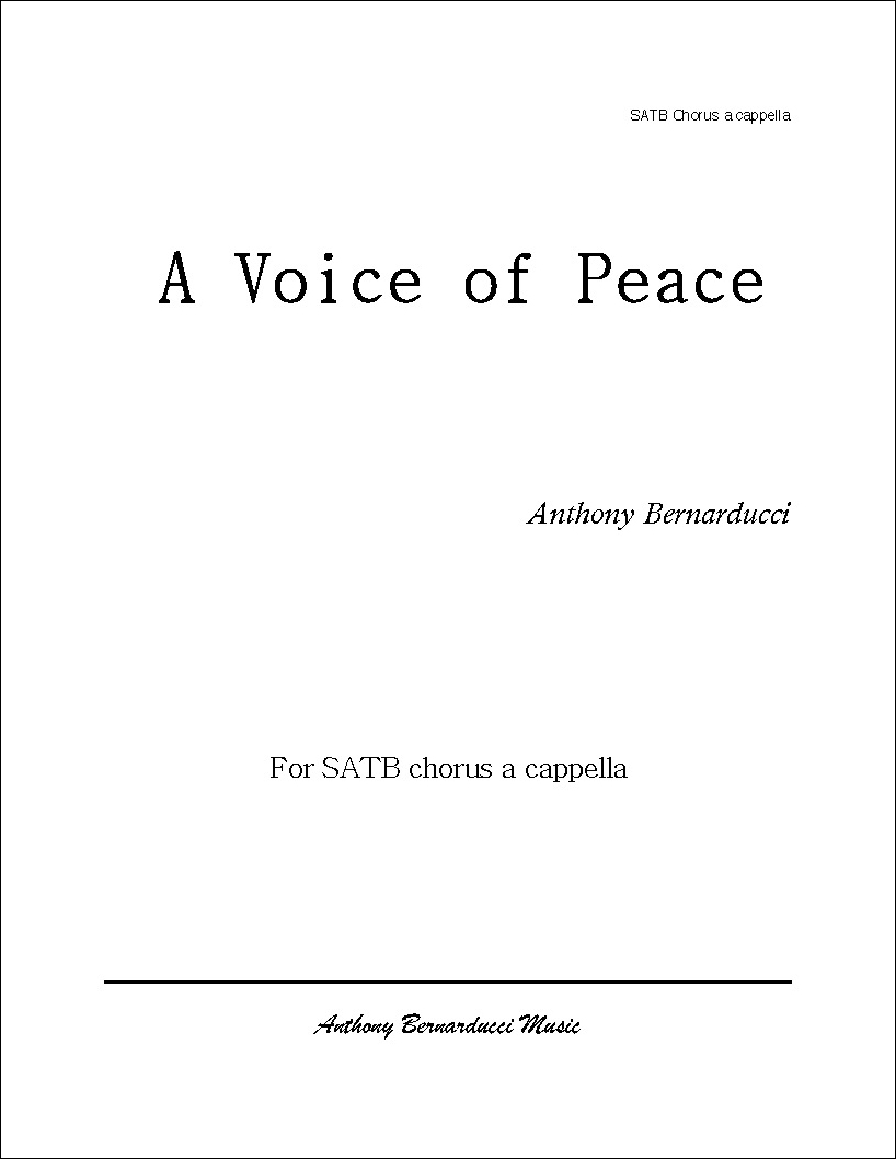 A Voice of Peace