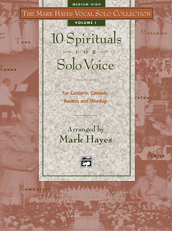 Ten Spirituals for Solo Voice vocal sheet music cover