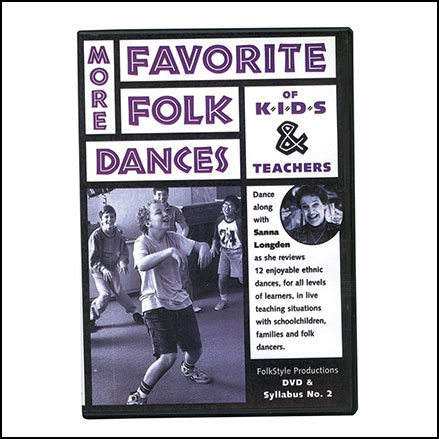More Favorite Folk Dances of Kids and Teachers