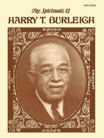 The Spirituals of Harry T. Burleigh vocal sheet music cover