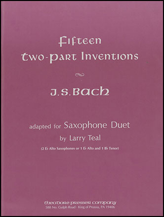 15 Two Part Inventions-Sax Duet