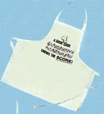 Apron-A Good Cook Knows the Score