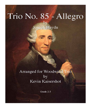 Allegro from Trio No. 85-Flute/Ob/Bassoon