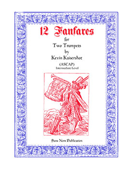 12 Fanfares for Two Trumpets No. 3