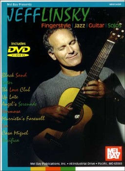 Fingerstyle Jazz Guitar Solo-Book and DVD