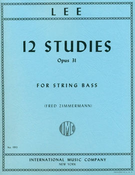 12 Studies for String Bass Op. 31