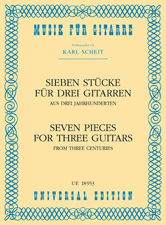 Seven Pieces for Three Guitars